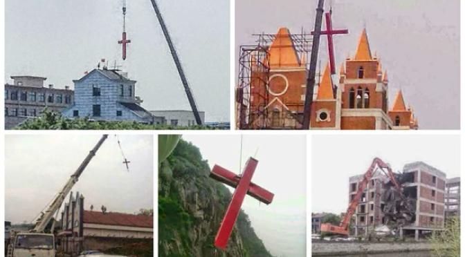 Gobierno chino intensifica su campaña contra cruces en iglesias
