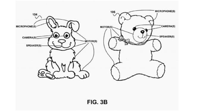 Google registra patente para oso de peluche con inteligencia artificial