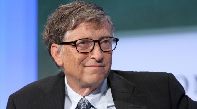 Bill Gates ha llamado por un GOBIERNO MUNDIAL