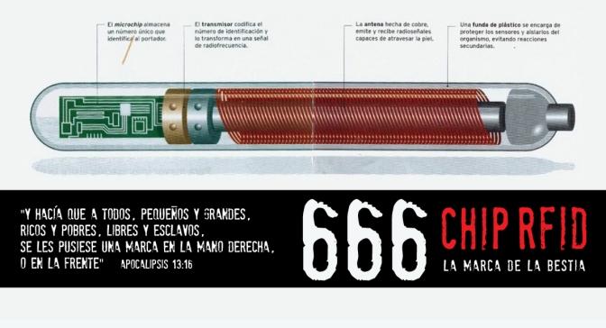 Breve explicación sobre el Verichip – 666 – La marca de la bestia