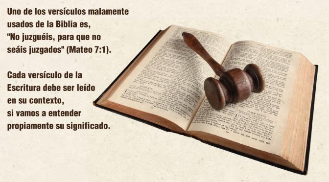 Matrimonio En La Biblia Significado : Es correcto juzgar de acuerdo a la biblia