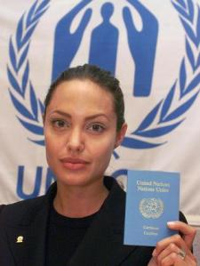 Angelina Jolie, Embajadora de Naciones Unidas y CFR
