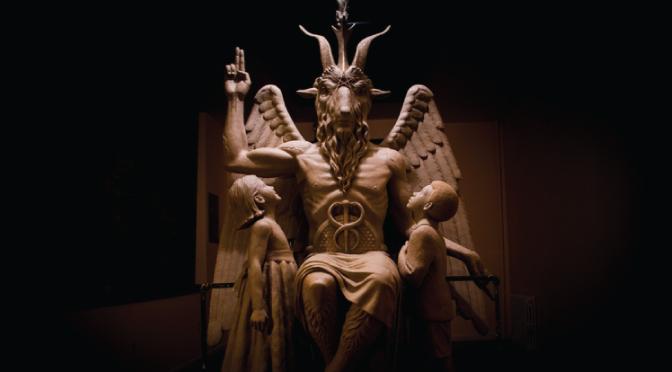 Así está quedando la estatua satánica en el capitolio de Oklahoma