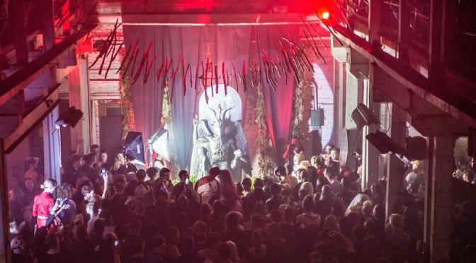 Presentación oficial de la estatua satánica Bafomet en Detroit