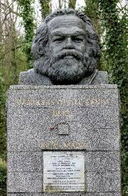 Tumba de Karl Marx en Highgate (Londres)