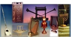 Vasijas y Ornamentos para el 3er Templo, foto del Insituto del templo