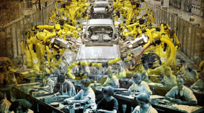 Una fábrica china nos muestra un retrato sobre nuestro futuro… y ya podemos ponernos a temblar