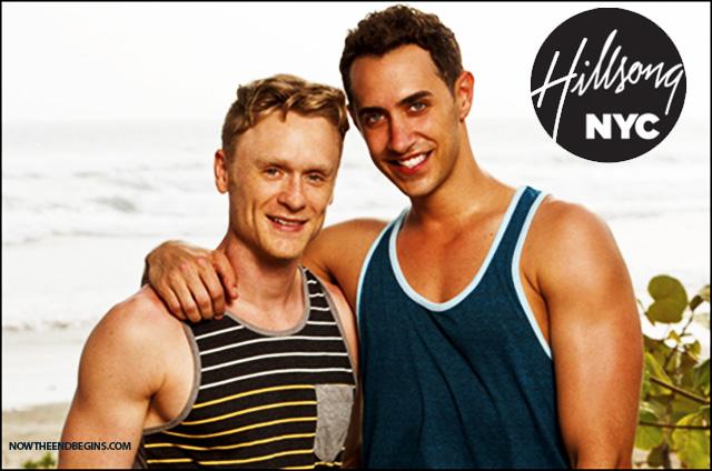 Josh Canfield y Reed Kelly, considerado como los novios de Broadway en el reality show