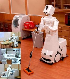 Robot para hacer la limpieza en el hogar