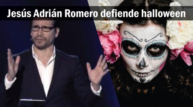 Jesús Adrián Romero predica en su iglesia sobre halloween