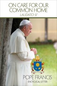 Portada en inglés de la Encíclica Papal 'LAUDATO SI'