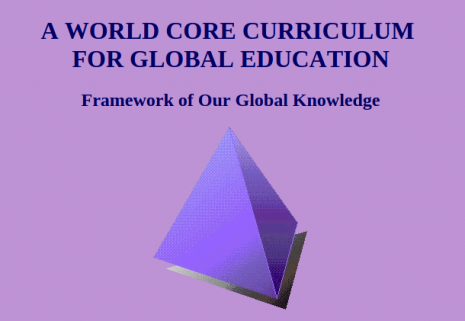 A-world-core-curriculum-global-education