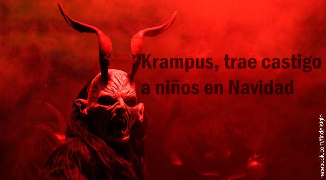 """El """"demonio"""" de Navidad, Krampus"""