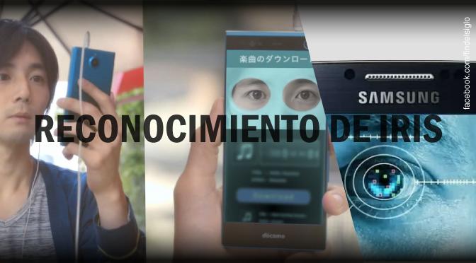 Smartphone con reconocimiento de iris