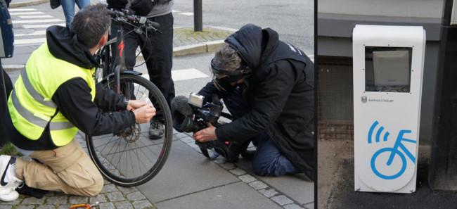 RFID bicicleta lector