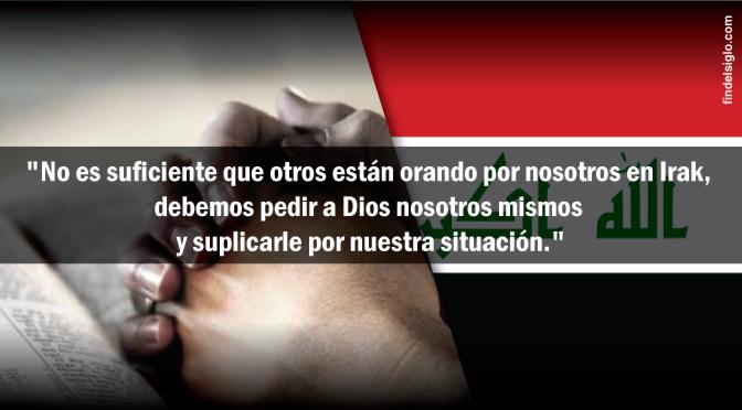 Oremos por los cristianos en Irak