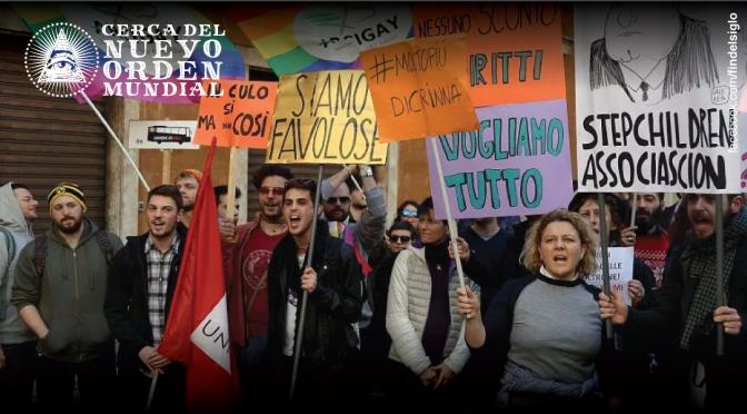 Italia aprueba proyecto de ley para legalizar uniones civiles homosexuales