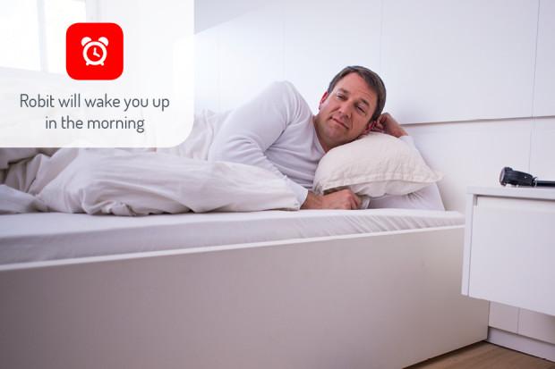 robit despertador