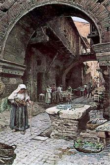 Gueto judío en Roma