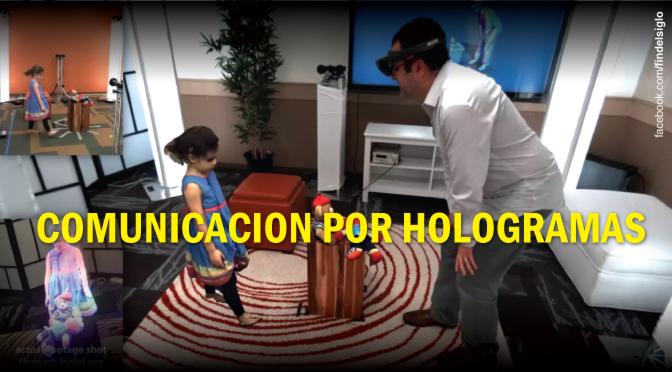 ¿Un sistema de comunicación basado en hologramas?