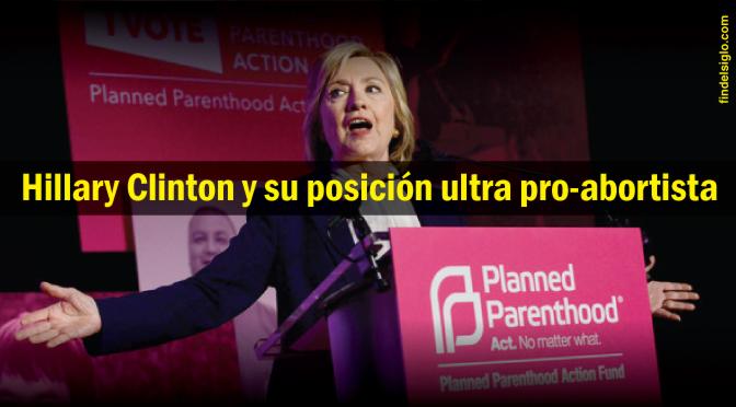 Hillary Clinton y su estrecha relación con el asesinato de bebés
