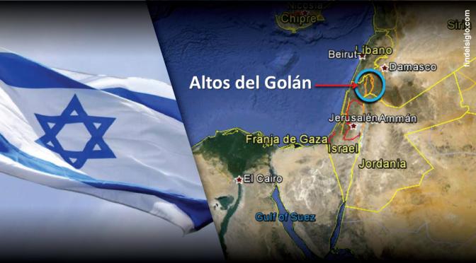 Netanyahu le dijo a Putin que Israel nunca devolverá a Siria Altos del Golá