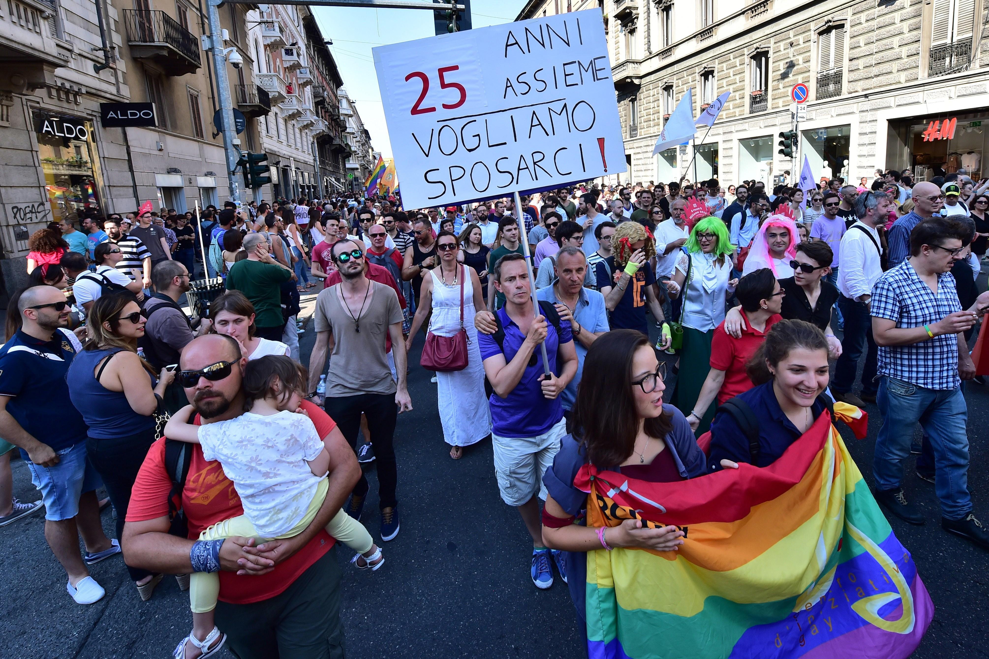 Poland hosts major european gay rights rally