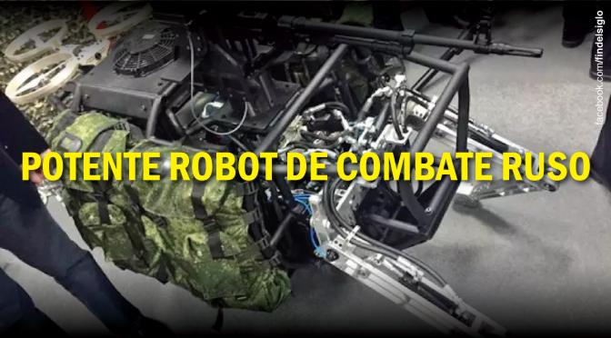 Rusia y sus robots de combate