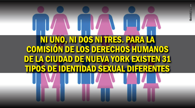 ¿Sabías que hoy en día hay más de 30 'identidades sexuales'?