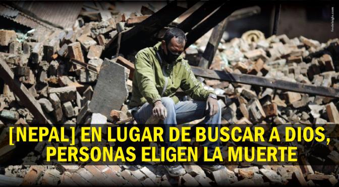 Aumento de suicidios tras terremotos