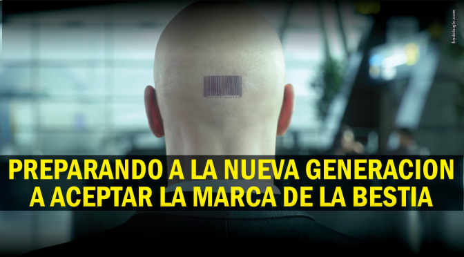 Videojuego 'Hitmam' promociona código de barra en personas