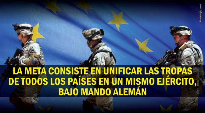 Plan secreto para establecer un Ejército europeo
