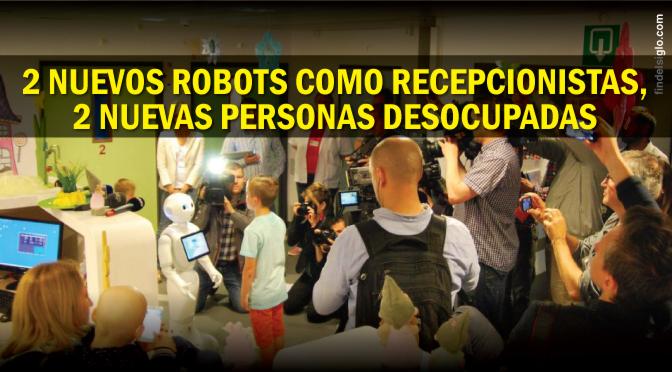 Ya es un hecho: Robots recepcionistas