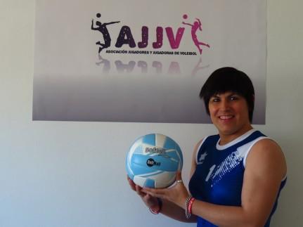 Antia Fernandez, transexual jugador de voley