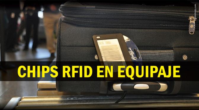Nuevas etiquetas de identificación RFID al viajar