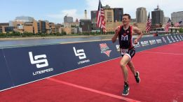 Chris Mosier es el primer triatleta transexual no operado