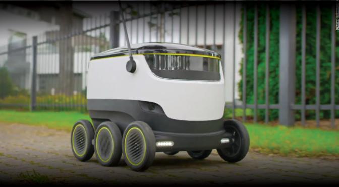 Delivery con robots