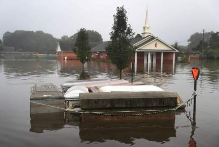Torrential Rains Bring Historic Floods To Southern Louisiana
