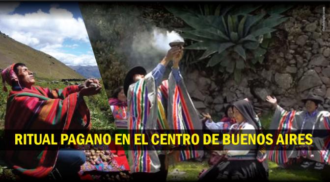 [Buenos Aires] Ritual de la Pachamama en el Obelisco