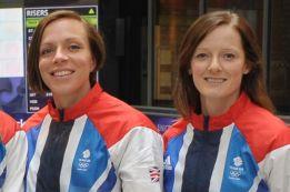 Kate Walsh y Helen Richardson