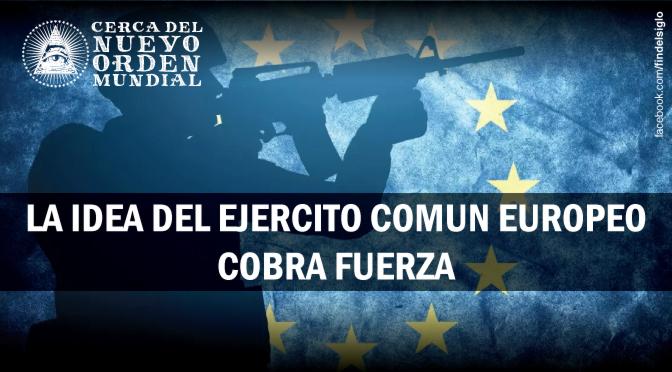 Se habla de un ejército conjunto en la Unión Europea