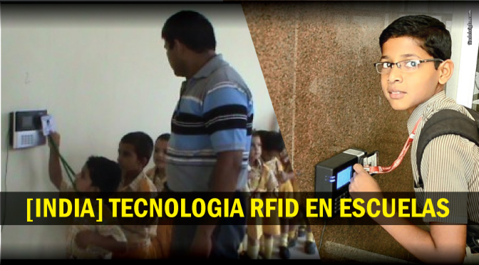 [INDIA] Escaneo RFID a estudiantes