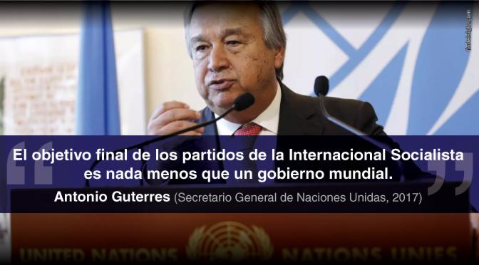 Nuevo jefe de la ONU: globalista, socialista, extremista