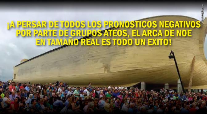 [EE.UU.] El Arca de Noé supera expectativas de visitantes