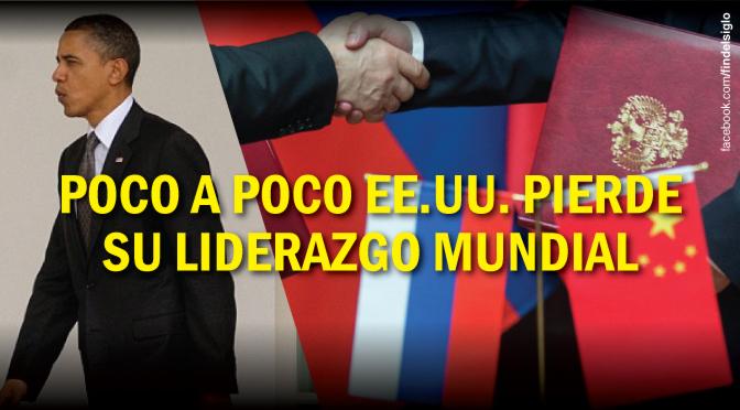 Cambios en las alianzas: Rusia y China predominan sobre EE.UU.