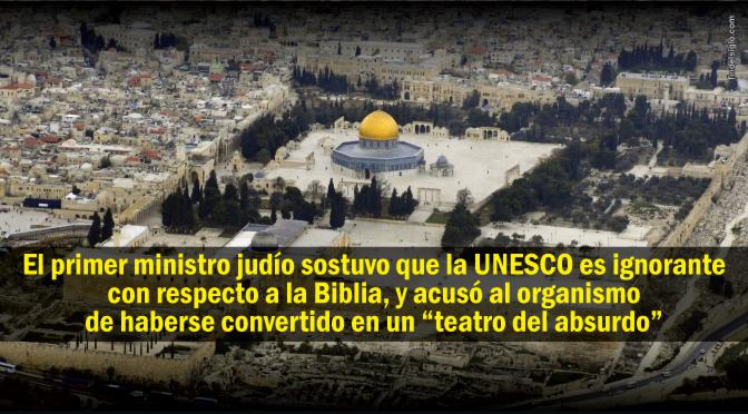 UNESCO niega la conexión de los judíos con el Monte del Templo