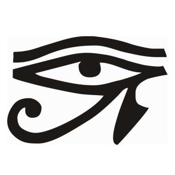 El Ojo de Horus o Ojo que todo lo ve es un símbolo pagano del antiguo Egipto que es usado actualmente por las Sociedades Secretas y la Masonería