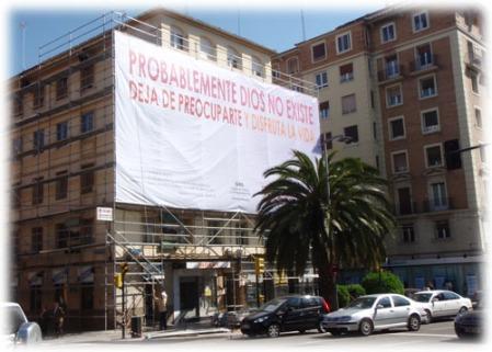 Gigantografía en Saragoza, España