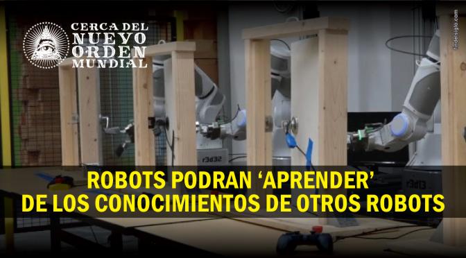 Google construye 'un gran cerebro' para enseñar a todos sus robots