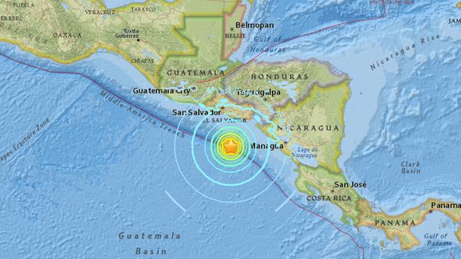Fuerte terremoto golpea a El Salvador y Nicaragua.png